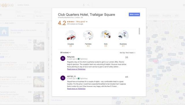 Reviews-on Google